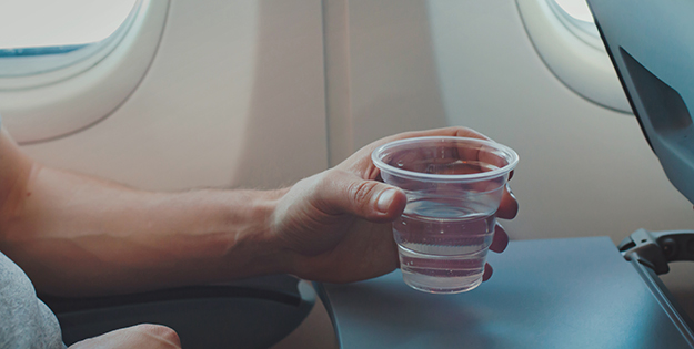Hydrating while travelling