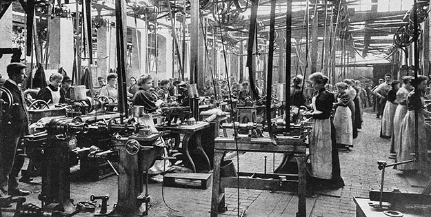 Women working in a factory