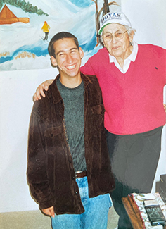 Noah and grandma