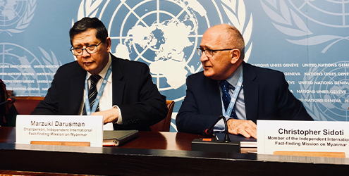 Chris Sidoti at UN