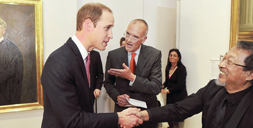 Jiawei meets Prince William